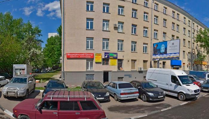 Расположение наркологической клиники «Zetmed» (Москва)