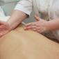 Процедура массажа в психотерапевтической клинике «Брейн Клиник» (Москва)