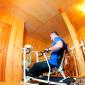 Спортивные занятия постояльцев в реабилитационном центре «Восстановление» (Москва)
