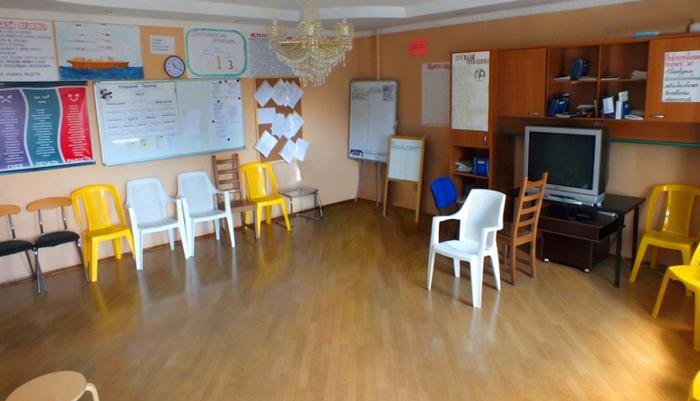 Зал для занятий в реабилитационном центре «Восстановление» (Москва)