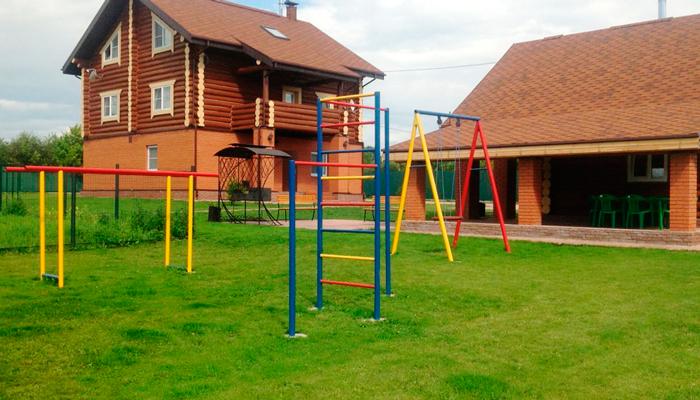Территория реабилитационного центра «Гиппократ» (Москва)