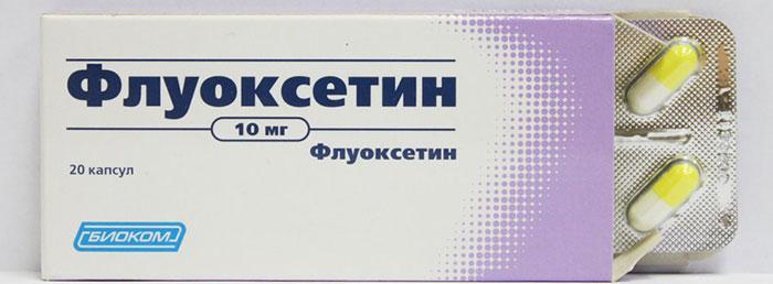 Флуоксетин является антидепрессантом и применяется в комплексной терапии при лечении алкоголизма