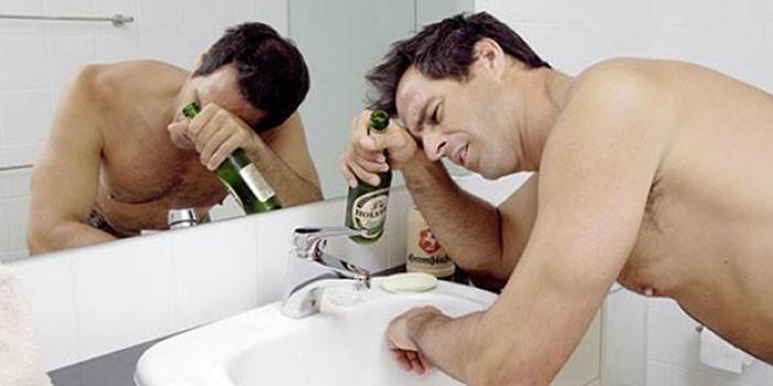 На время выветривания пива из организма влияют общие показатели здоровья