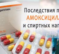 Амоксициллин и алкоголь: совместимость и последствия для организма
