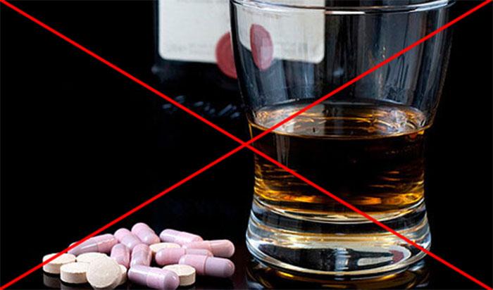 Специалисты утверждают, что сочетание Тералиджена с алкоголем несовместимо