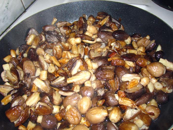 При лечении алкоголика без его ведома гриб навозник рекомендуется обжарить и подать как блюдо