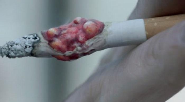 Что будет если съесть кнопку из сигареты