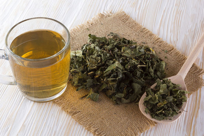 Чай из копытня принимают за час до еды ежедневно до полного излечения