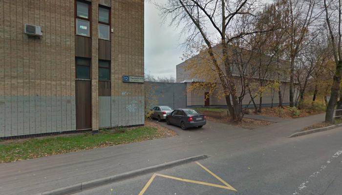 Расположение наркологической клиники «Орион» (Москва)