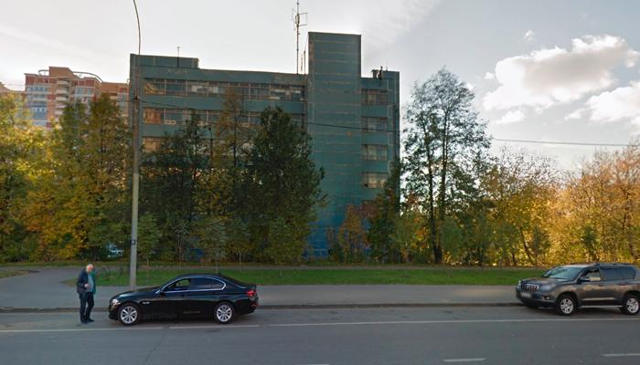 Расположение наркологической клиники «ЕвроМед» (Москва)