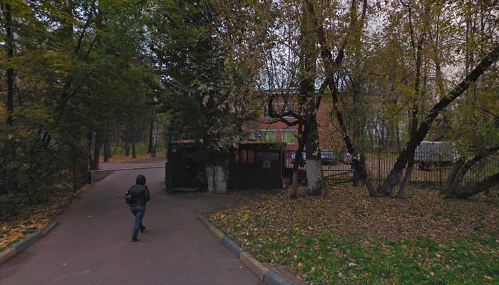 Расположение наркологической клиники «Медата» (Москва)