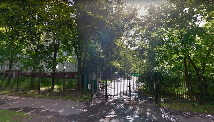 Расположение наркологической клиники «Росмед» (Москва)