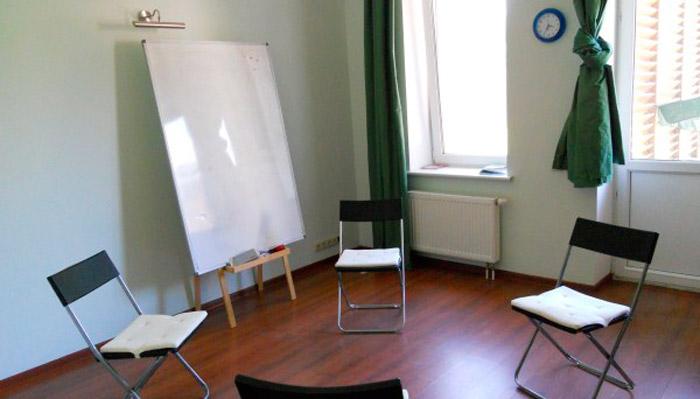 Зал для занятий в психологическом центре «Линия жизни» (Москва)