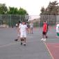 Игра постояльцев в футбол в реабилитационном центре «Ориент-Авант» (Москва)