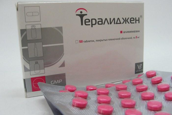 Тералиджен является психотропным препаратом и применяется при различных нарушениях психики