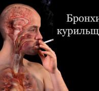 Курение при бронхите: последствия для организма человека