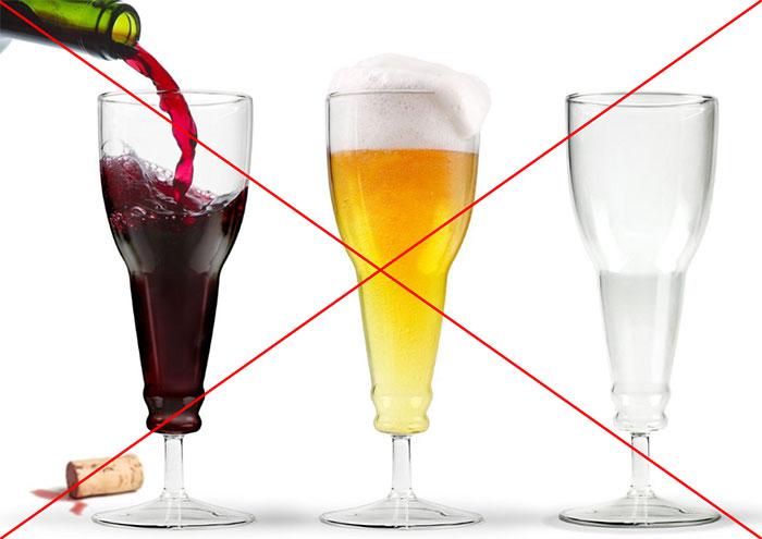 Злоупотребление пивом и вином влечёт за собой только негативные последствия для организма