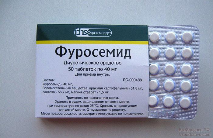 Фуросемид является препаратом диуретиком и обладает мочегонным эффектом