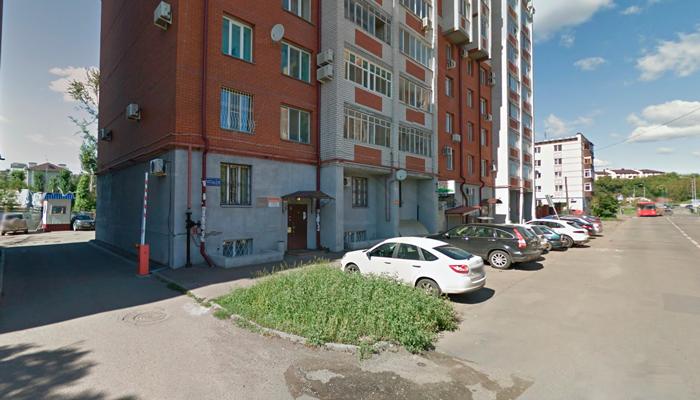 Расположение наркологической клинике «Запоев нет!» (Казань)