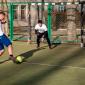 Игра постояльцев в футбол в наркологическом центре «Город свободы» (Москва)
