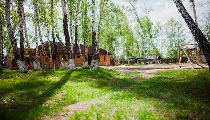 Территория реабилитационного центра «Горизонт» (Липецк)