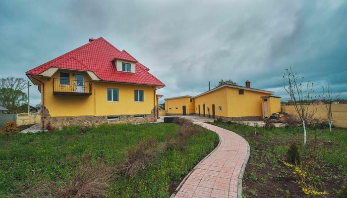 Двор реабилитационного центра «Инсайт» (Набережные Челны)