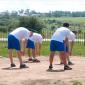 Спортивные занятия постояльцев в реабилитационном центре «Вершина» (Липецк)