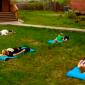 Спортивные занятия постояльцев в реабилитационном центре «Горизонт» (Набережные Челны)