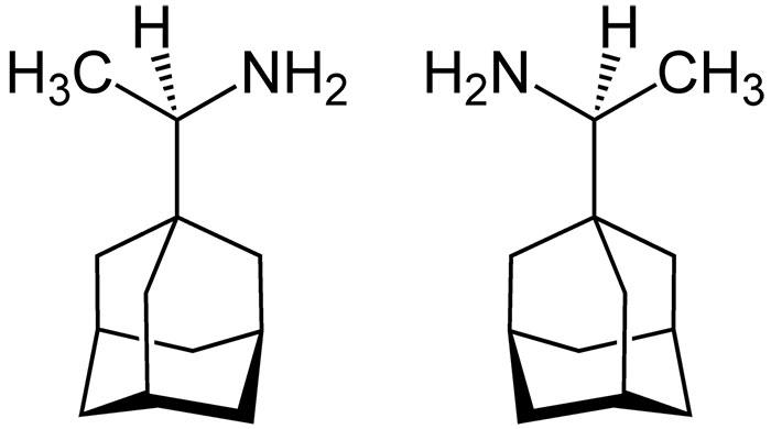 Римантадин - структурная формула действующего вещества препарата Ремантадин