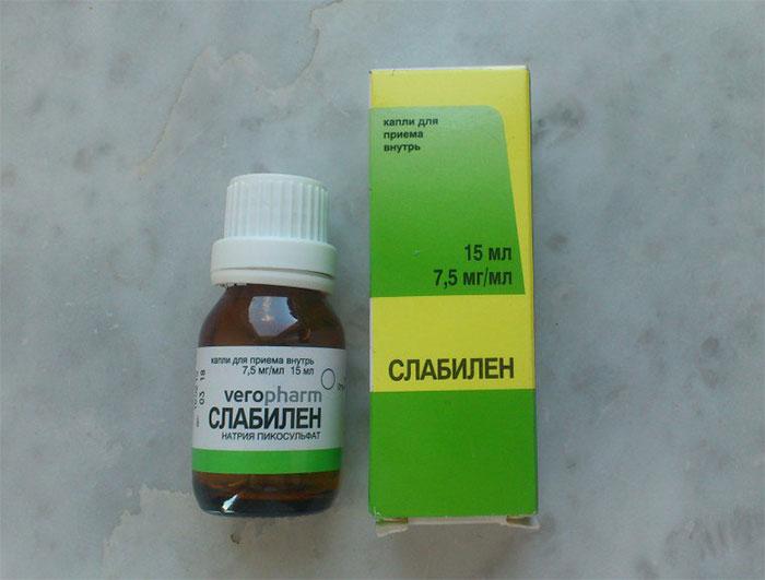 Слабилен - слабительный препарат, применяюийся для нормализации процессов пищеварения