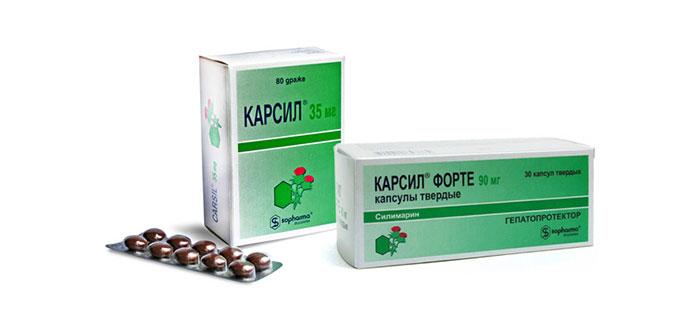 Карсил является препаратом гепатопротектором созданным на основе растительных компонентов
