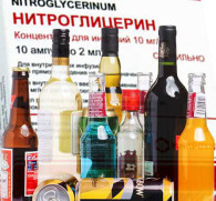 Нитроглицерин и алкоголь: взаимодействие компонентов