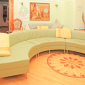 Гостиная в реабилитационном центре «Решение» (Нальчик)