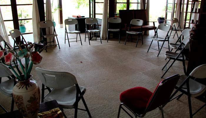 Зал для занятий в реабилитационном центре «Республика» (Москва)