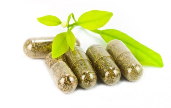 Персен создан на основе корня валерианы, листьев мелиссы и мяты