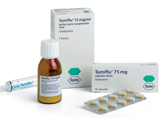 Тамифлю - противовирусный препарат группы ингибиторов нейраминидазы