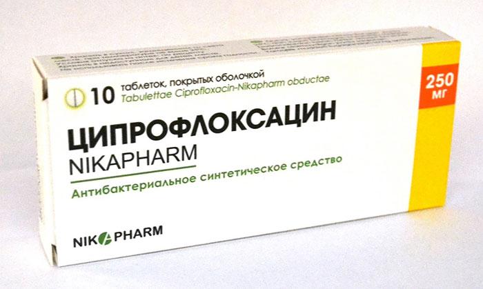 Ципрофлоксацин является антибактериальным препаратом и обладает широким спектром действия