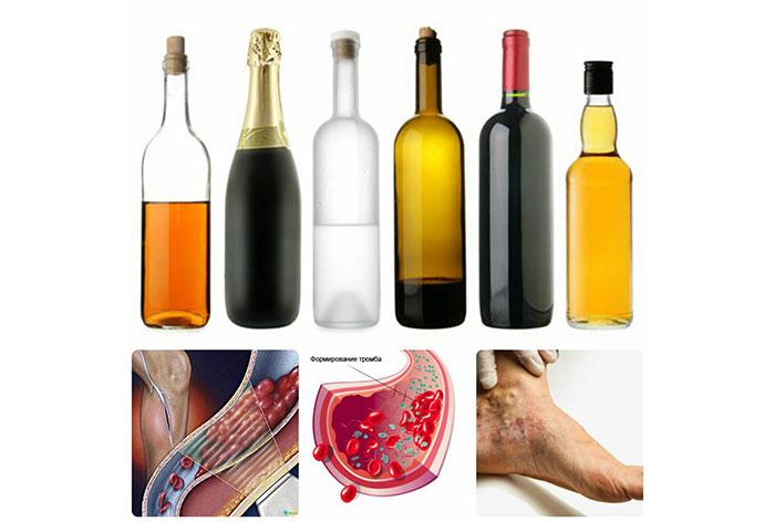 Совмещение Тромбо АСС с алкоголем приводит к тяжёлым побочным реакциям