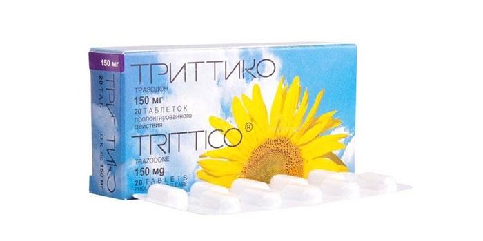 Триттико - антидепрессант направленным на нарушение механизма обратного захвата серотонина