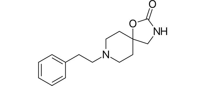 Фенспирид - структурная формула действующего препарата Эреспал