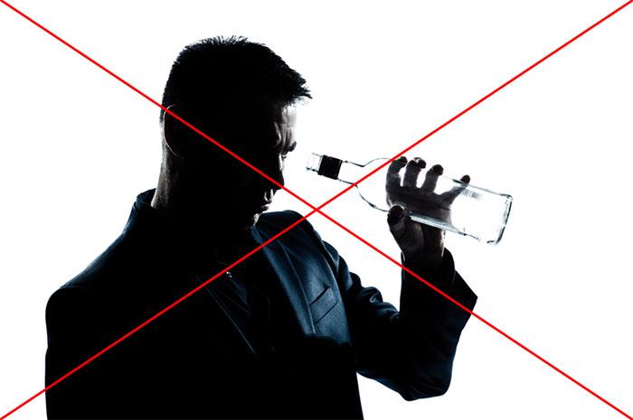 Врачи рекомендуют отказаться от употребления алкоголя на время лечения препаратом Эреспал