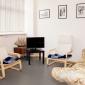 Кабинет для работы с психологом в наркологической клинике «Медик-Групп» (Москва)
