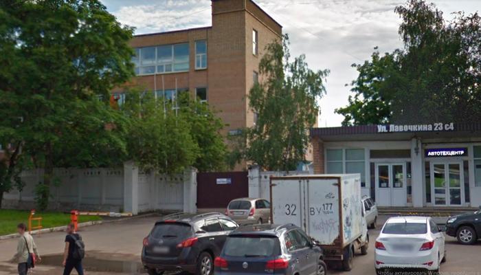 Расположение наркологической клиники «Медик-Групп» (Москва)