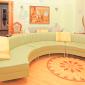 Гостиная в реабилитационном центре «Решение» (Москва)