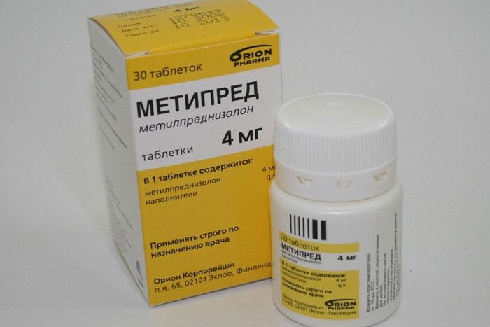 Метипред - препарат группы глюкокортикостероидных гормонов с противовоспалительным эффектом