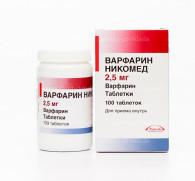 Варфарин и алкоголь: результат взаимодействие антикоагулянта и спиртных напитков