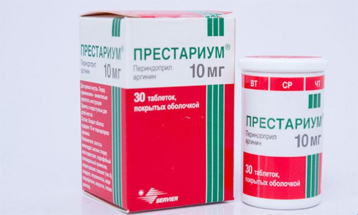 Престариум является сосудосуживающим препаратом и обладает гипотензивным действием