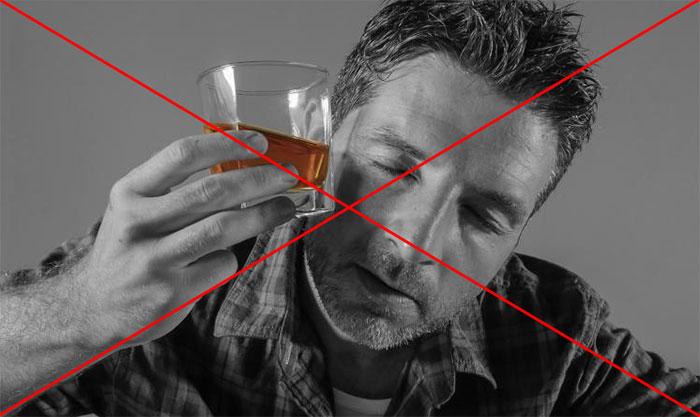 Врачи рекомендуют исключить алкоголь на время приёма препарата Офлоксин