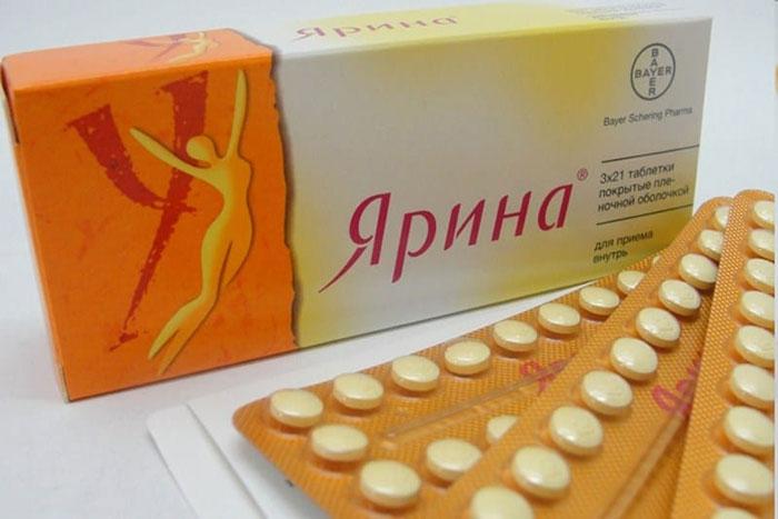 Ярина является противозачаточным препаратом комбинированного действия