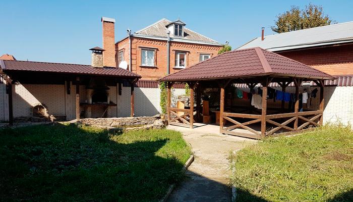Территория центра реабилитации «Начало» (Тула)